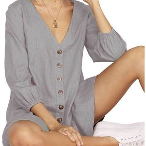 Dresses & Skirts - Boho Button-up Dress